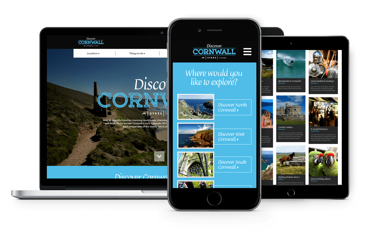 Sykes Cottages Discover Cornwall